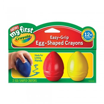 Crayola 3 Palm Grip Crayons - 811345