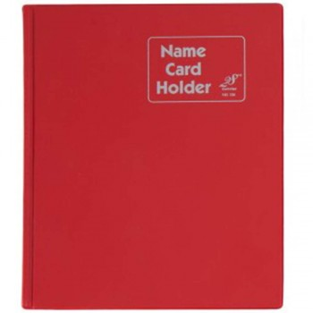 East File NH320 PVC Name Card Holder-Red (Item No: B01-46)  A1R2B18