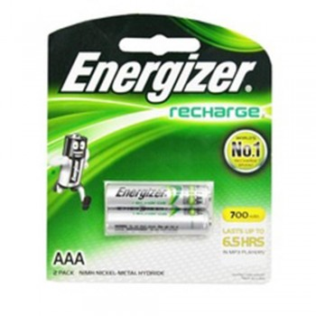 Energizer Universal NiMH AAA Rechargeable Batteries - 2-count - 700 mAh - 1500 Cycles (Item No: B06-13) A1R2B226
