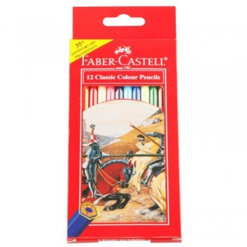Faber Castell Classic Colouring Pencil-12L (Item No: B05-04) A1R2B181