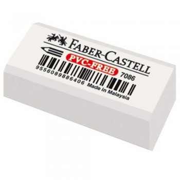 Faber Castell Dust-Free Eraser 7086-S (Item No: A02-19 E7086/48) A1R1B32