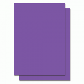Fluorescent Color Label Sticker - A4 size - 100 sheets - Violet
