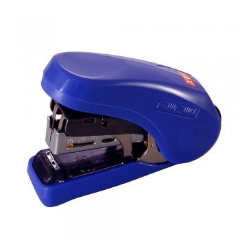Max HD-10 Flat-Clinch Light Effort Stapler Blue