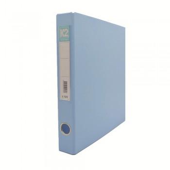 L125 25mm 2D Glue Ring File A4 - Fancy Blue