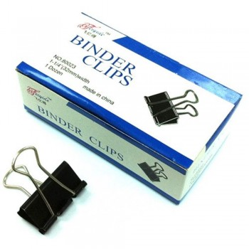 Binder Clips - 32mm, 1 dozen / box