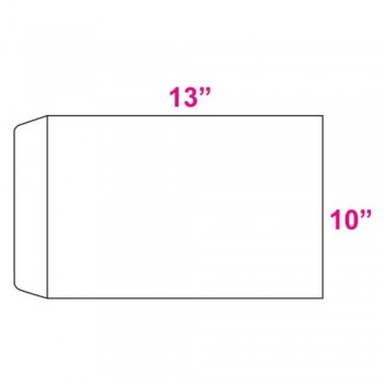 White Envelope - 100gsm - 250 pcs 10-inch x 13-inch (Item No: C03-17) A5R1B9