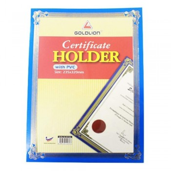 GL-1101 PVC Certificate Holder (Item No: B11-46) A1R4B14
