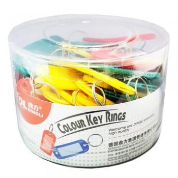 Coloured Plastic Key Tag (Item No: G04-22) A1R4B81