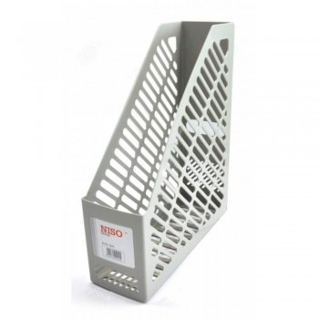 NISO Magazine Holder/Rack MH8215 - Grey (Item No: B10-45-GY) A1R5B67