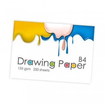 B4 Drawing Paper 135gsm 250 sheets