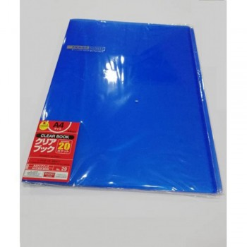 Daiso 20 Page Clear Book (NO.29)