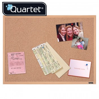 Quartet Oak Cork Frame Boards 35-380352Q