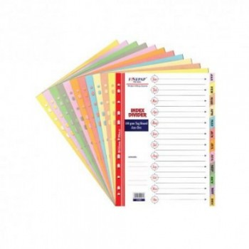 Finepap Index Divider Jan-Dec (S1603)