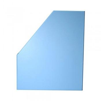 """5"""" PVC Magazine Box File - Fancy Blue"""