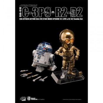 EAA-010 Star Wars Episode V C-3PO R2-D2 Combo Set