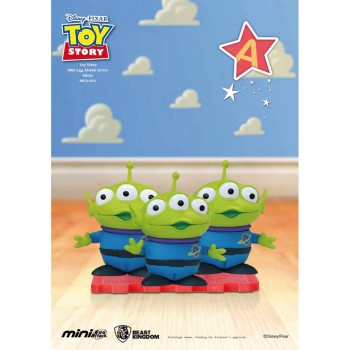 Disney Pixar Toy Story Series - Mini Egg Attack - Squeeze Toy Aliens (MEA-002)