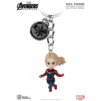 Avengers: End Game Egg Attack Key Chain Series Captain Marvel