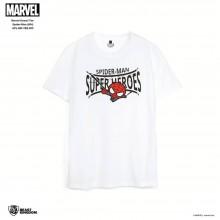 Marvel Kawaii Tee Spider-Man - White
