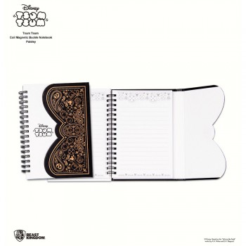 Disney Tsum Tsum Coil Magnetic Buckle Notebook - Paisley