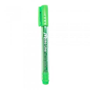 Buncho Memo Liner Highlighter-Green