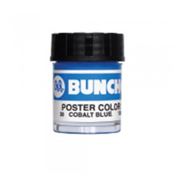 Buncho PC15CC Poster Color 38 Cobalt Blue - 6/box
