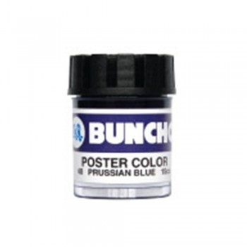 Buncho PC15CC Poster Color 40 Prussian Blue - 6/Box