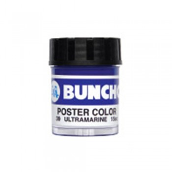 Buncho PC15CC Poster Color 39 Ultramarine - 6/box