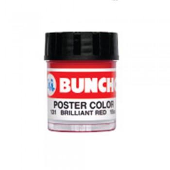 Buncho Poster Color 15CC Poster Color 131 Brilliant Red - 6/Box