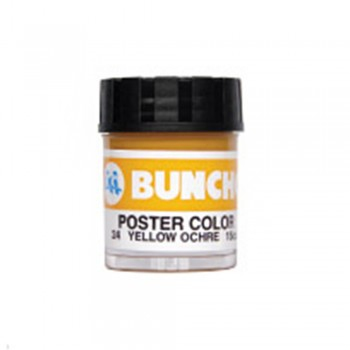Buncho PC15CC Poster Color 24 Yellow Ochre - 6/Box