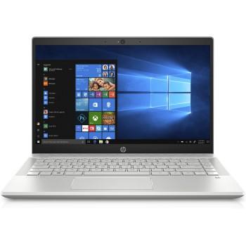 "(AONE) HP PAVILION 14-CE0084TX 14"" FHD Laptop - 17-8550, 4GB RAM, 128GB SSD + 1TB  HDD, MX130, W10, MINERAL SILVER"