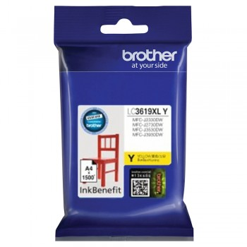 Brother LC-3619XL Yellow Ink