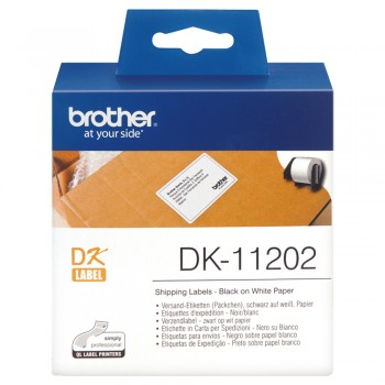 Brother DK11202 Shipping Label - 62mm x 100mm
