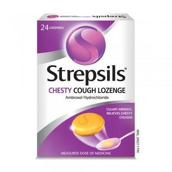Strepsils Chesty Cough Lozenge 24s