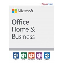 (AONE) MICROSOFT OFFICE HOME & BUSINESS 2019 PC/MAC ENGLISH APAC EM MEDIALESS (FPP) SOFTWARE (T5D-03249)