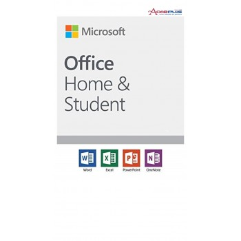 (AONE) MICROSOFT OFFICE HOME & STUDENT 2019 PC/MAC ENGLISH APAC EM MEDIALESS (FPP) SOFTWARE (79G-05066)