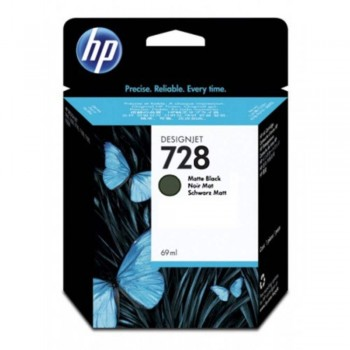 HP 728 300-ml Matte Black DesignJet Ink Cartridge (3WX30A)
