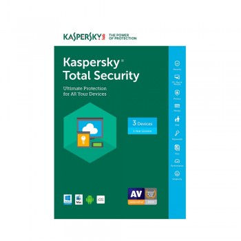 Kaspersky Total Security 2017,  3 Device , 1 Year , Download [Online Code]
