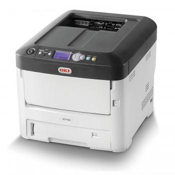 OKI C712n Color Printer C700 Series Network LED Printer - 46406118