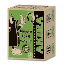 """Akira Green Ncr 4Ply W 9.5"""" X 11"""" (230Fans)"""